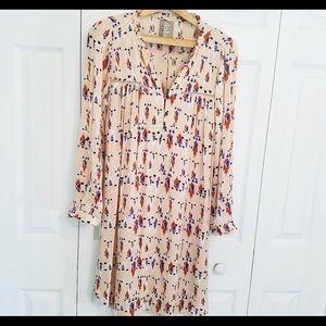 Anthropologie Dolan Aztec Wanderlust Shirt Dress S